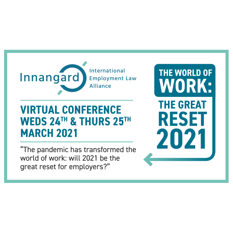 Virtual Conference: The World of Work: The Great Reset 2021